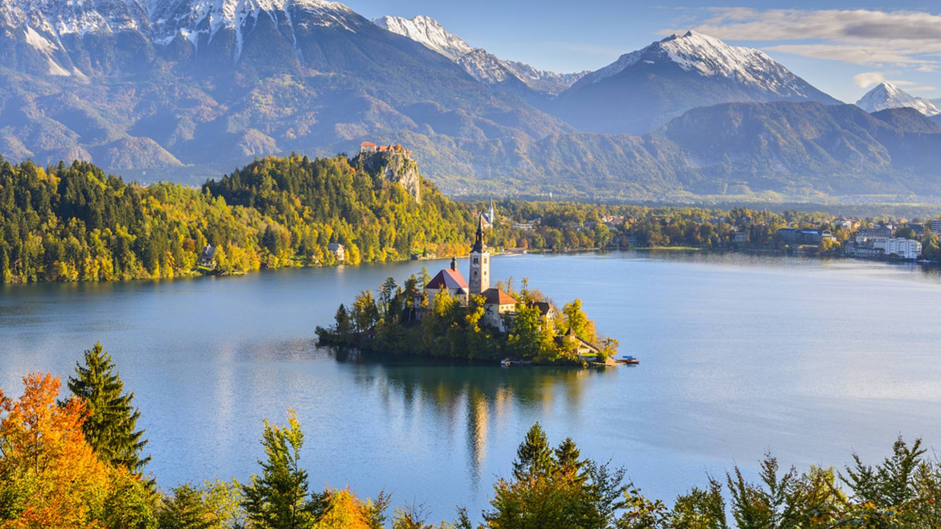 Naturaleza eslovena en grupo