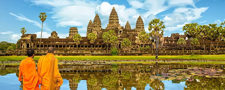 Cruise around in the Jayavarman, Saigon and Siem Reap area