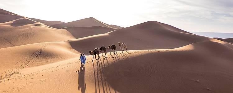 Exklusiver Kurztrip in die Sahara