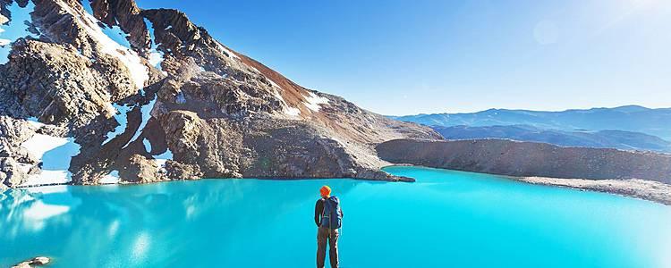 Sur les toits glacés de la Patagonie en petit groupe