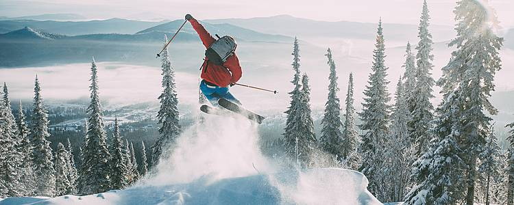 Lush ski vacation in the Alps