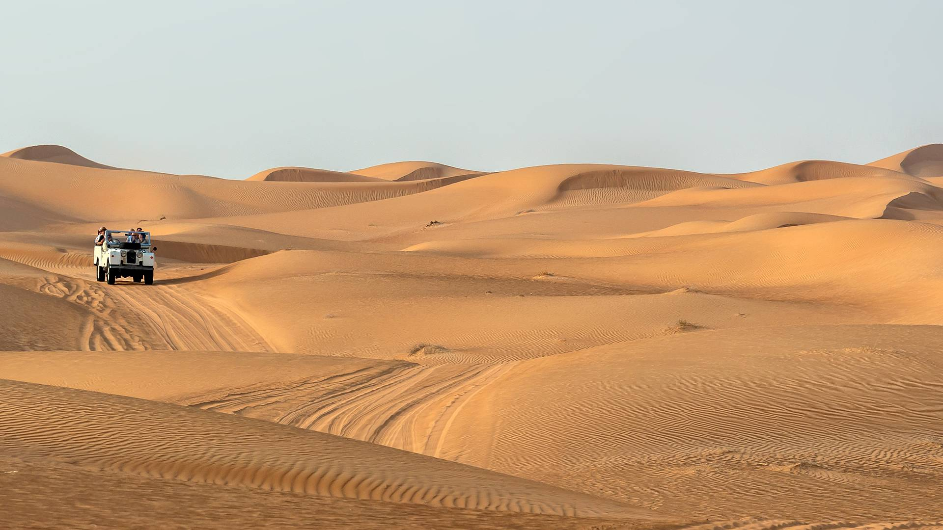 Fuga invernale nel Sahara