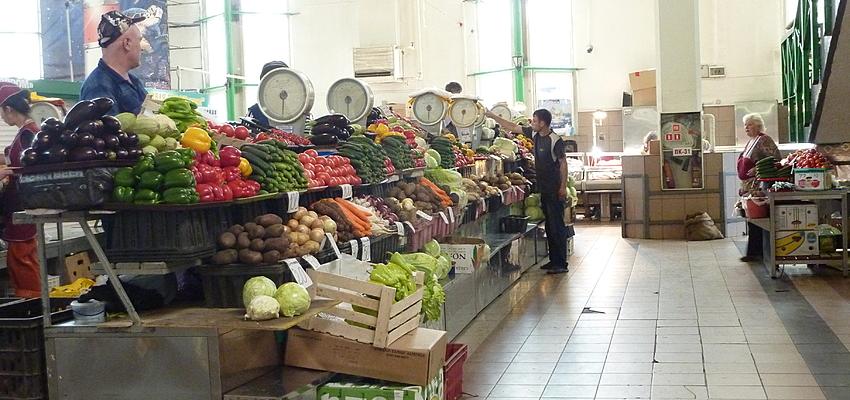 Mercato coperto a Irkoutsk