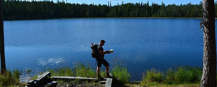 Randonnée et bivouac - La Finlande en été