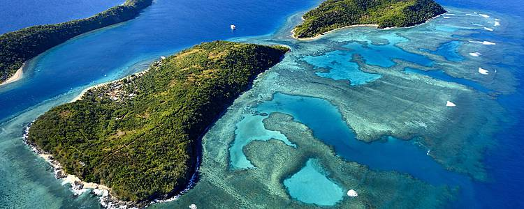 Inselhopping durch die Südsee