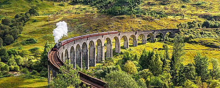 Scotland by train