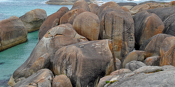 Elephant Rocks near Denmark and Albany, Australia