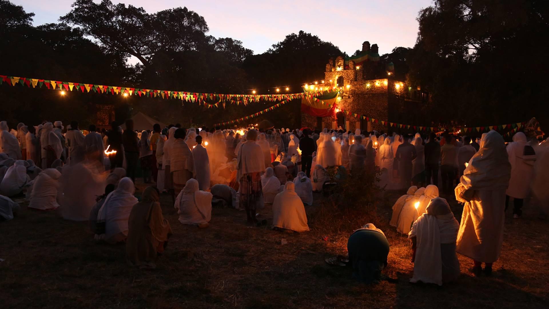 Pèlerinage en petit groupe sur les lieux saints d'Abyssinie