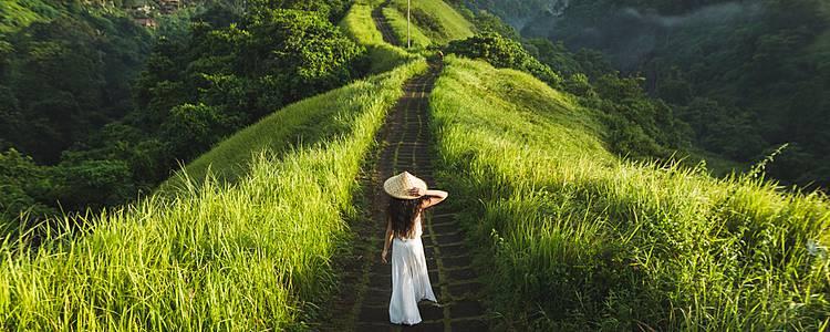 Isla de Java y Bali solo para ellas