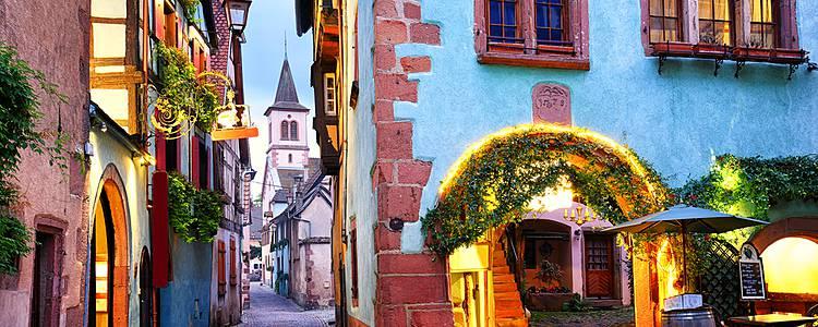 Paris, Alsace and Switzerland