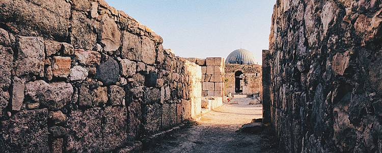 Desert mosaics and ancient cities