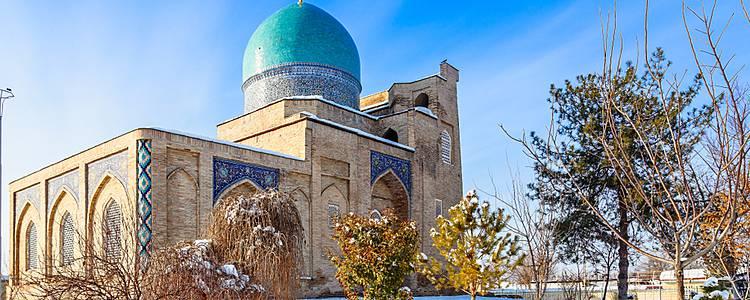 Winter adventure in Uzbekistan
