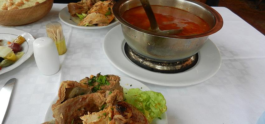 A tavola in Marocco