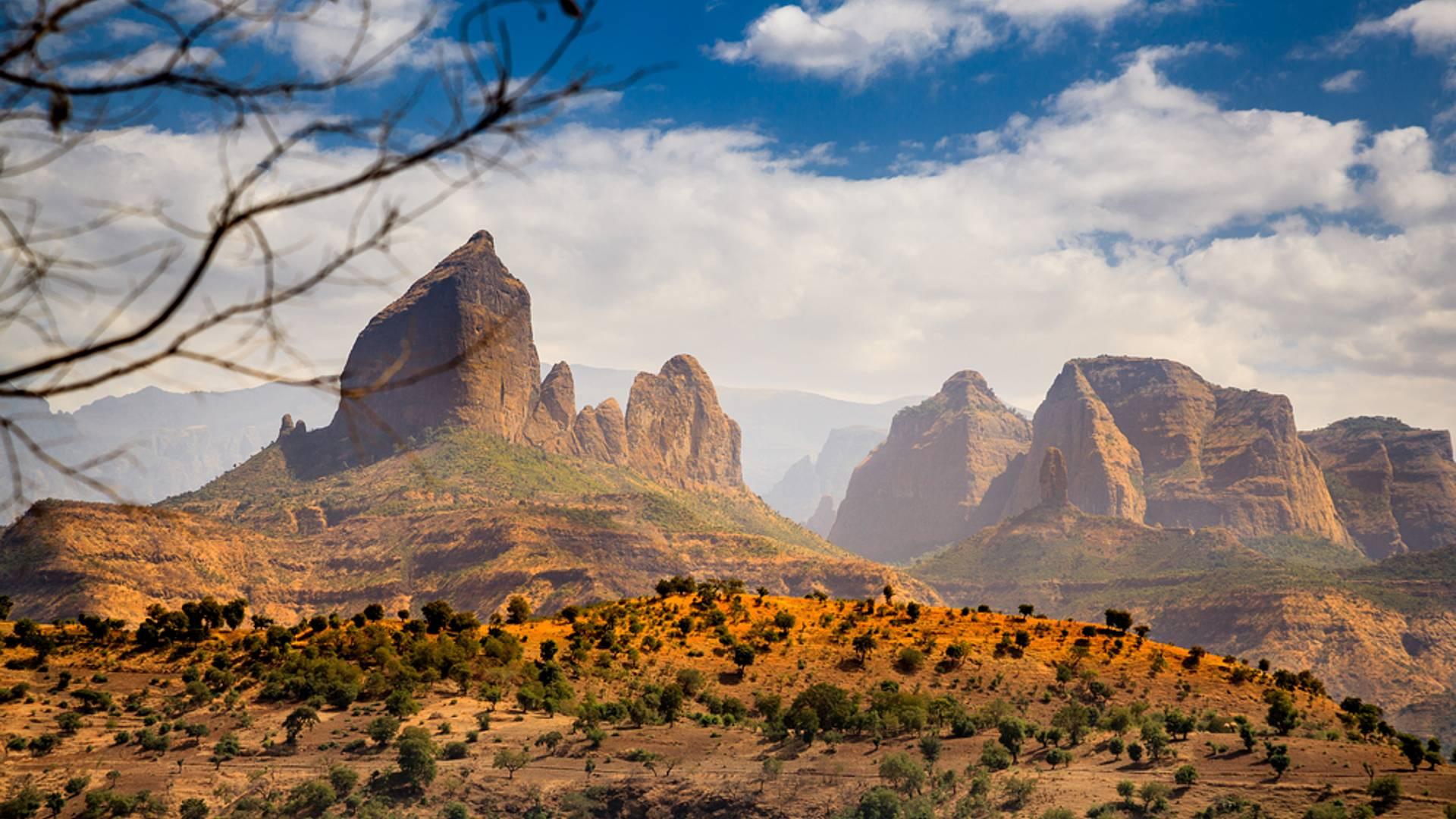 Trekking desde las montañas Simien hasta Lalibela