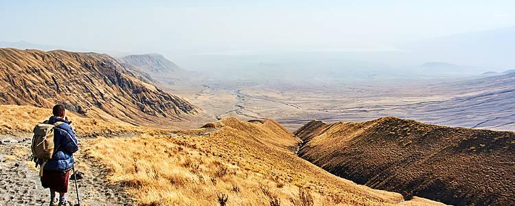 Safari und Ngorongoro-Hochland Wanderung