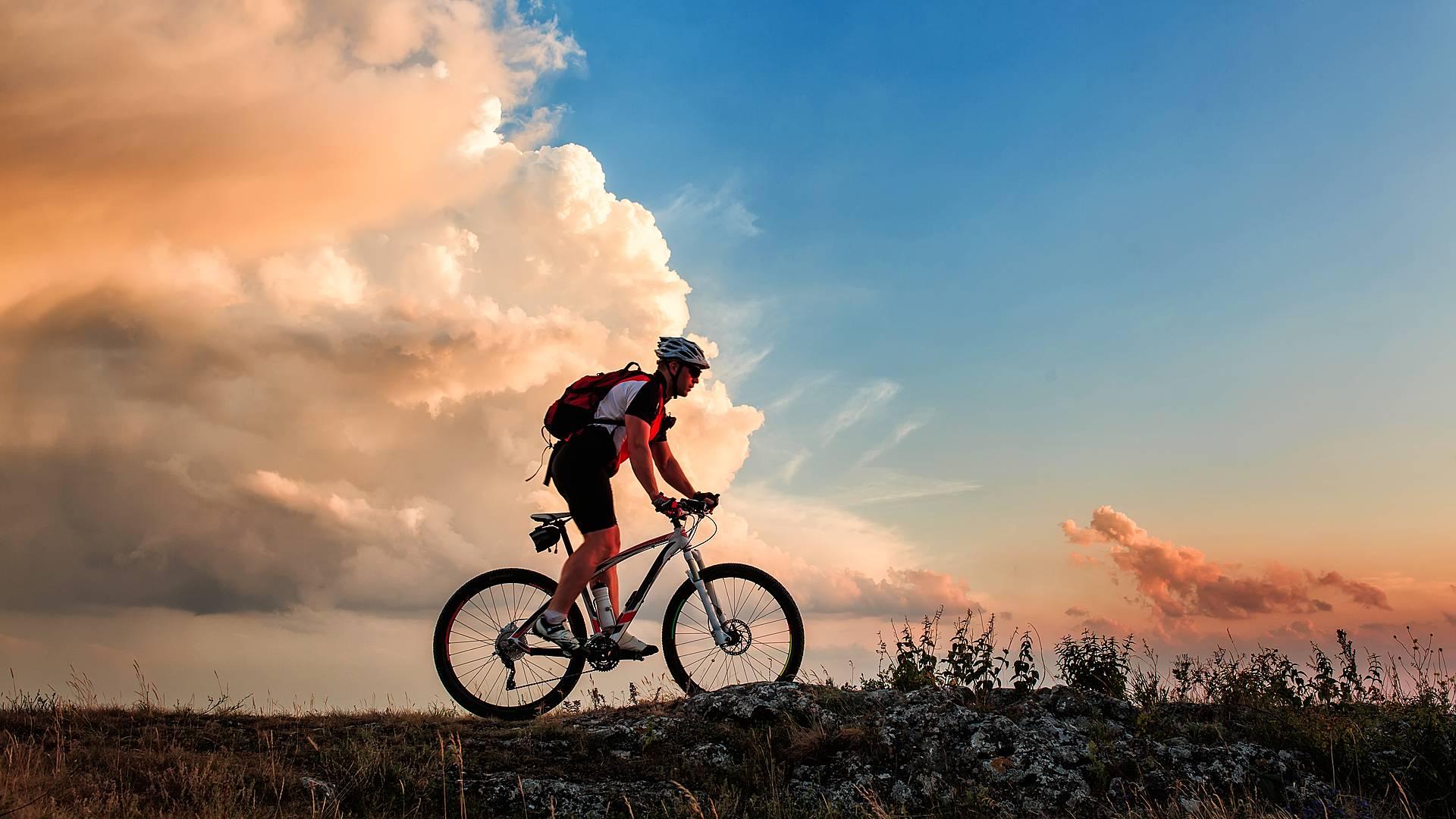 Abwechslungsreiche Radtour in den Bergen