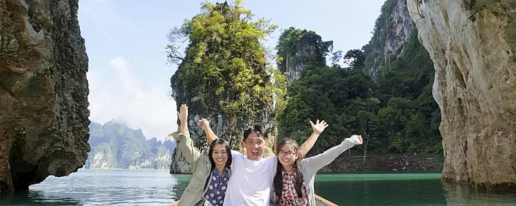 Reino de Siam, Lanna y joyas del sur en familia