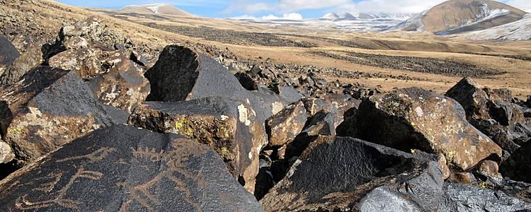 Auf den Spuren der alten Felsmalereien