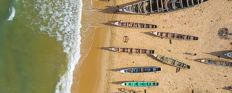 La Costa Senegalesa desde el Norte hasta el Sur