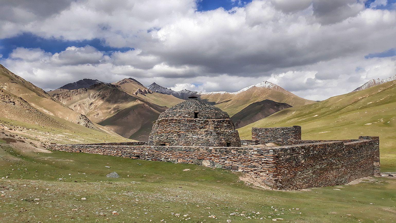 Ein Bewohner Zentralasiens