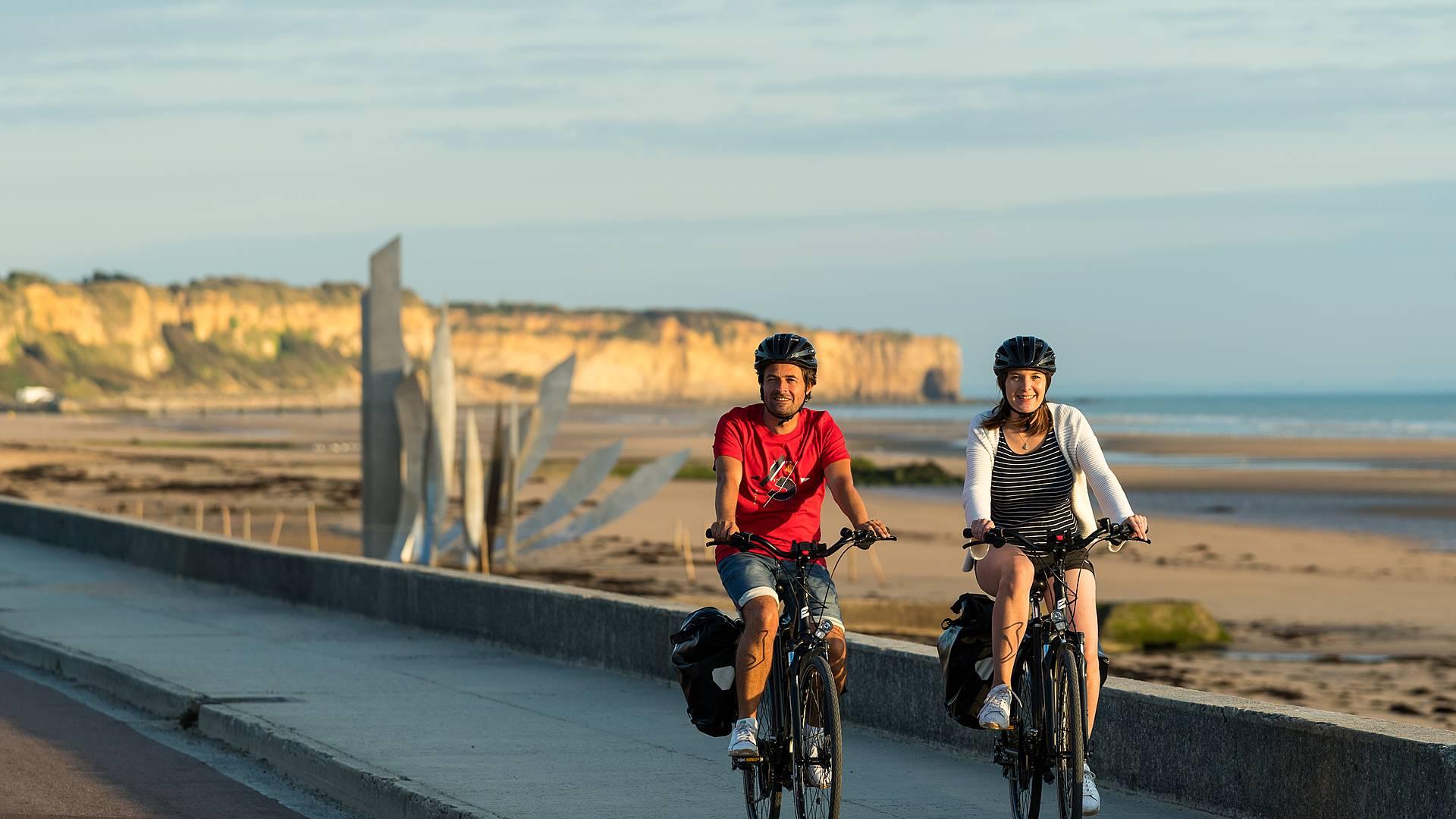 Les plages du débarquement et le bocage normand en vélo