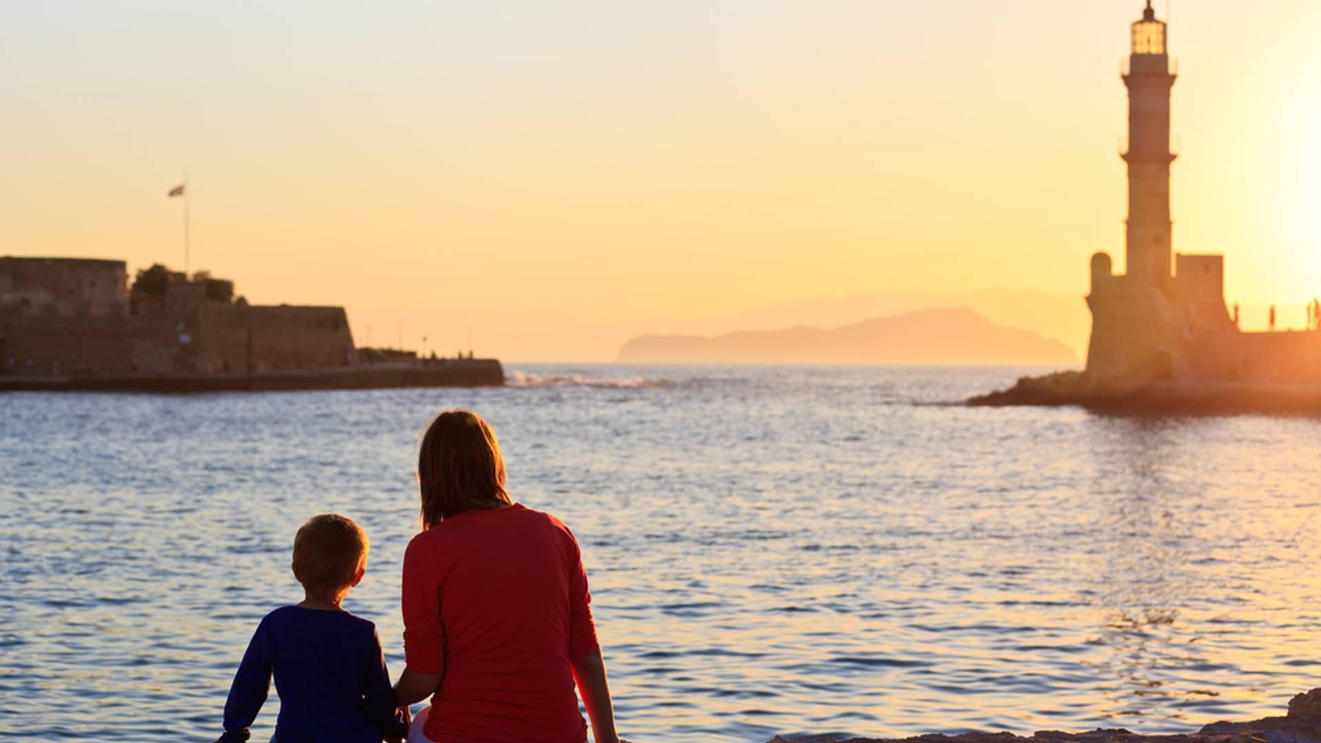 Sur les routes de l'Ouest crétois en famille