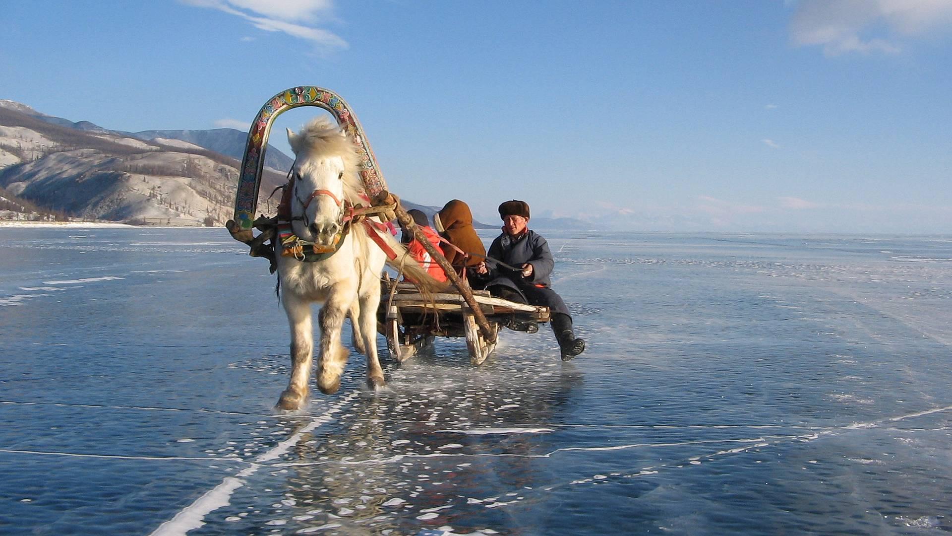 Dalle steppe centrali al lago Khuvsgul
