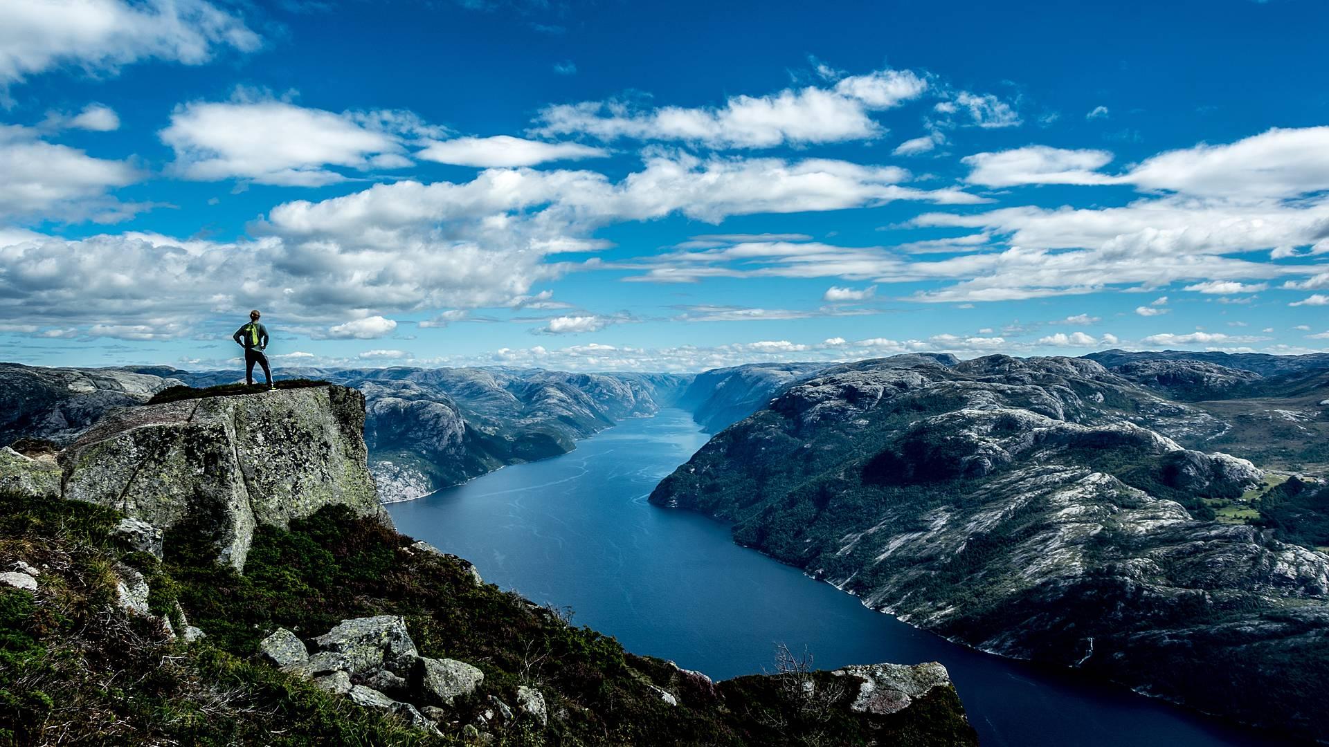 Friluftsliv : les fjords à l'air libre