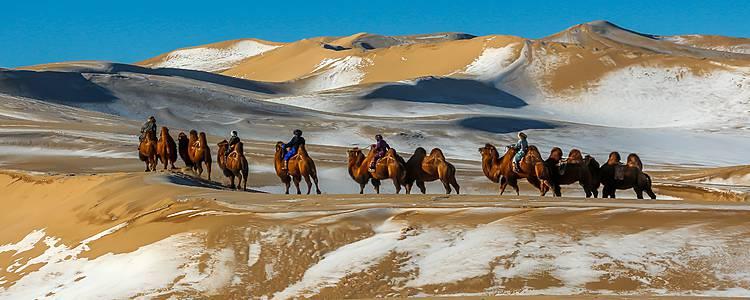 Rencontres hivernales avec les nomades du Gobi