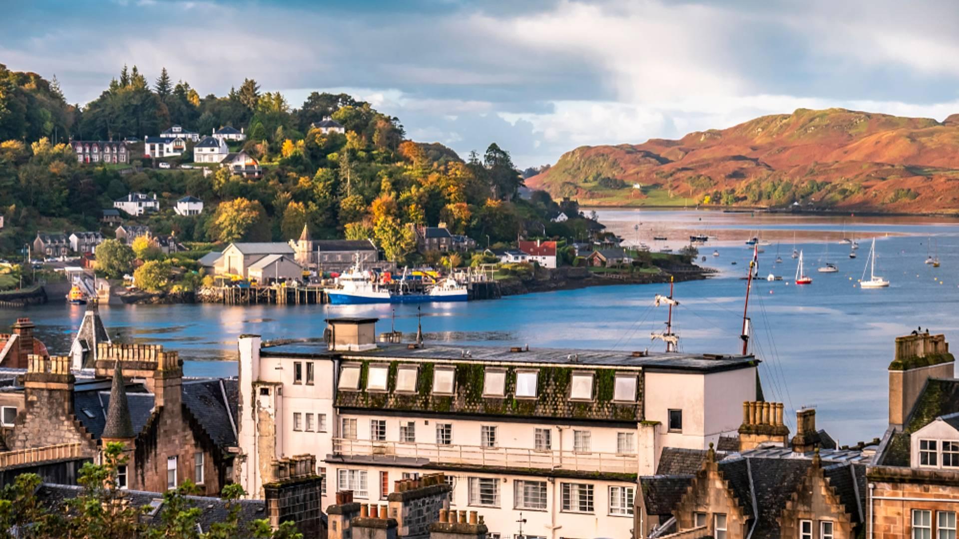 D'Edimbourg à Glasgow via l'île d'Arran