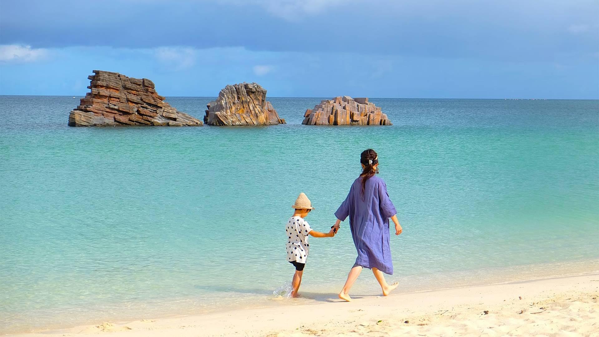 Le gemme del Paese e il mare di Okinawa