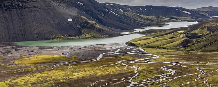 Le long des pistes - Une Islande confidentielle