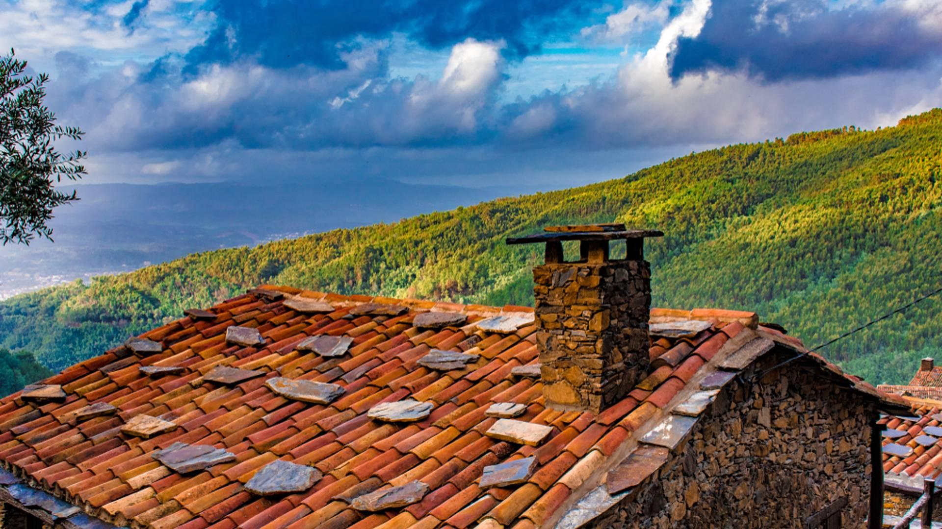 Serra da Lousã, de centrale vallei van Portugal