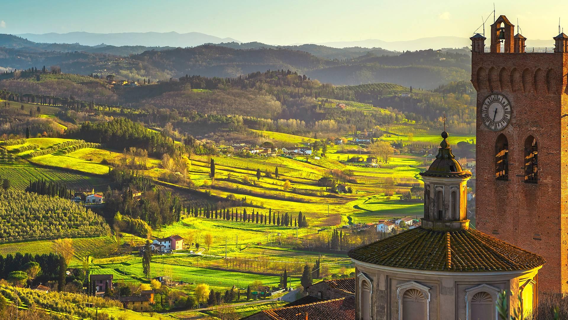 Die Via Francigena von Massa nach Siena