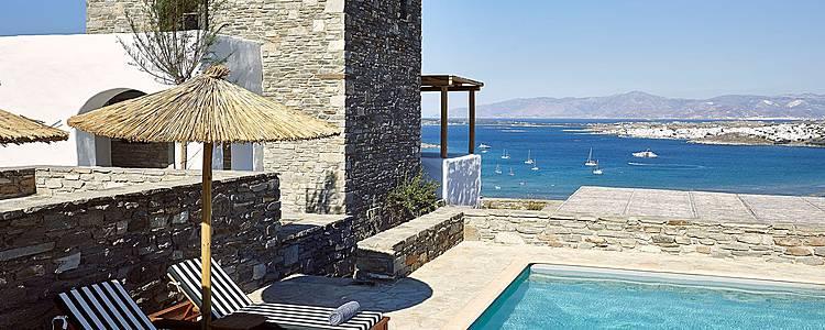 Ma villa à Paros