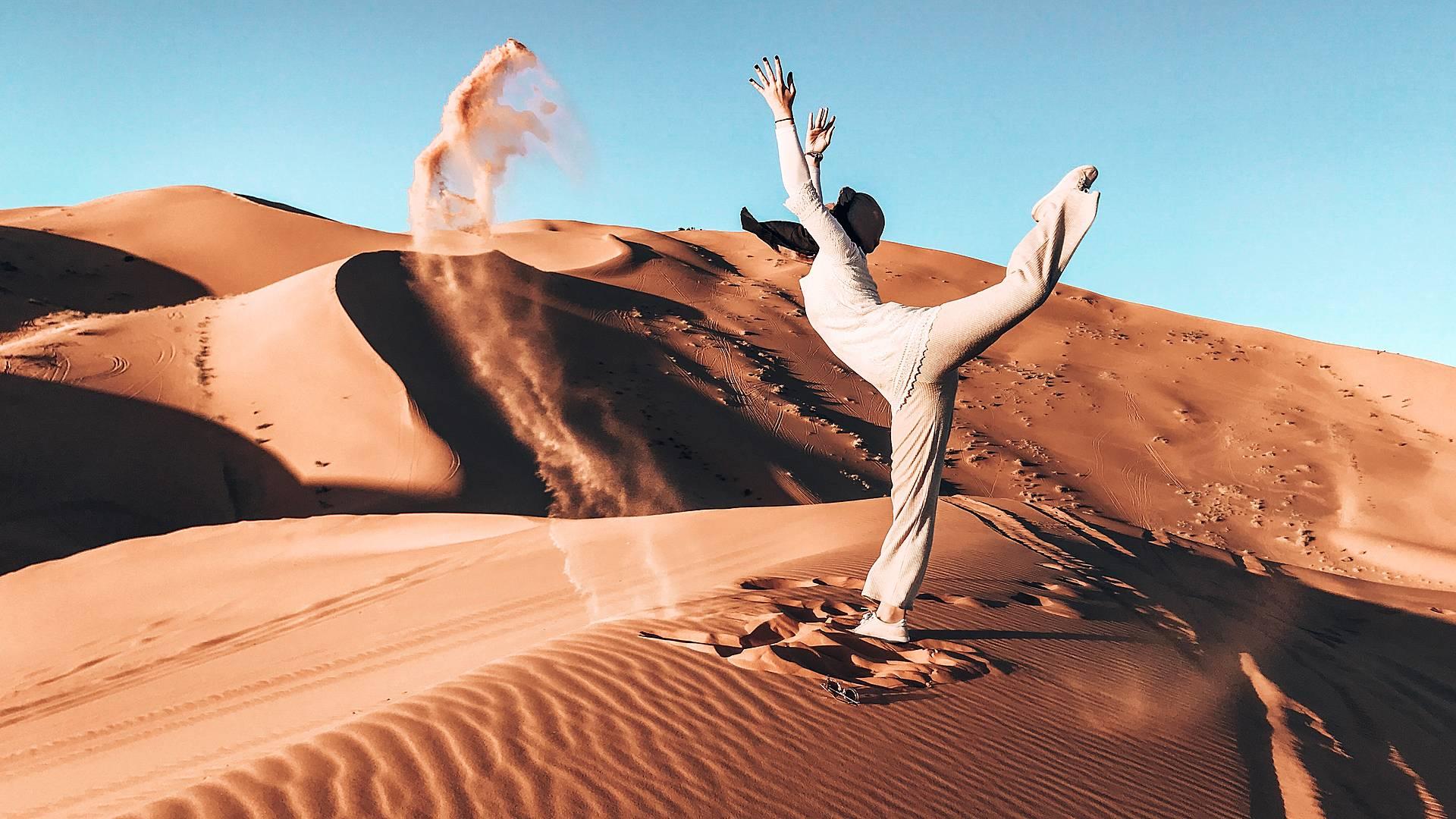 Randonnées, yoga et méditation au coeur du désert