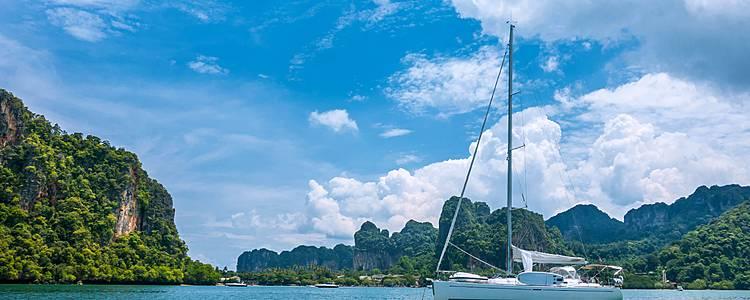 Segeln in der Andamanen See
