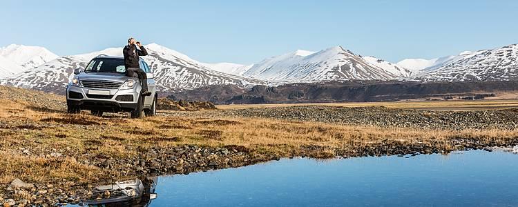 Islandia de ensueño con coche de alquiler