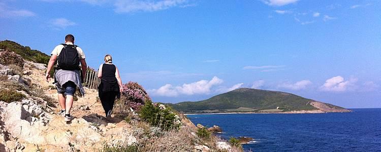 Escapade à pieds au Cap Corse