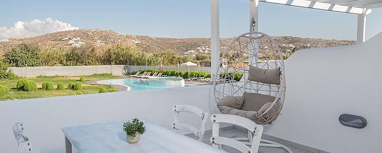 Ma villa à Naxos