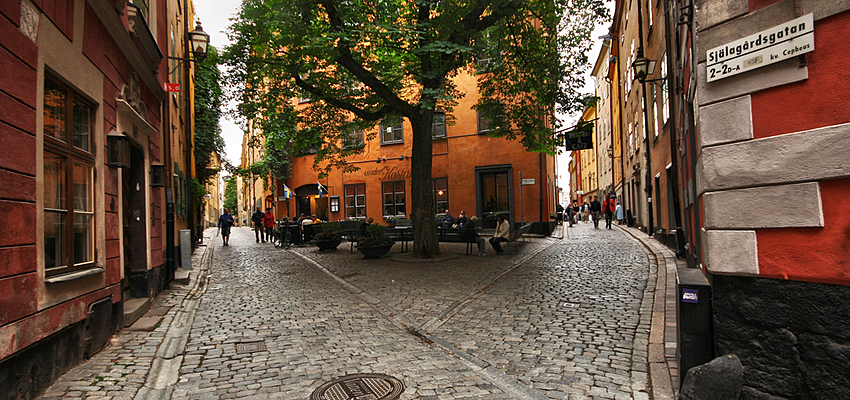 Les rues de Stockholm, une source d'inspiration certaine