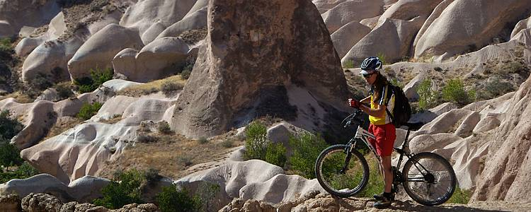 Mit dem Mountainbike durch Kappadokien
