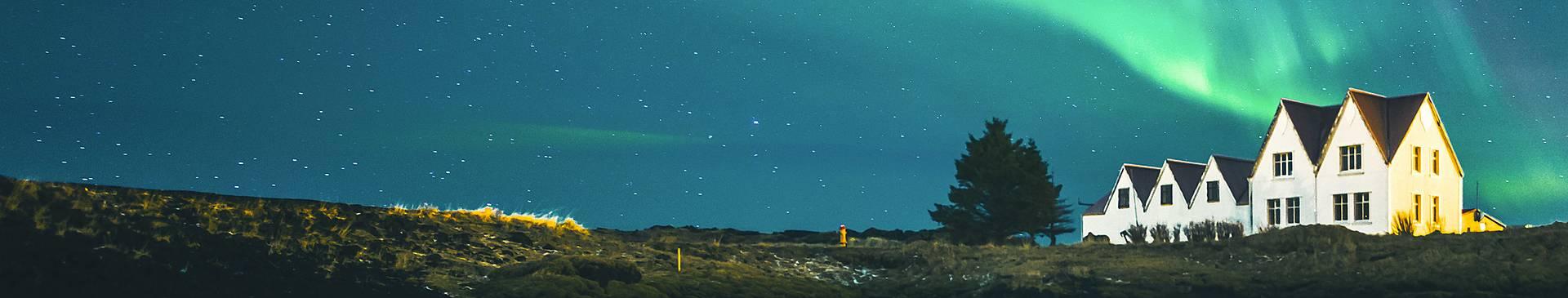 Voir les Aurores boréales en Islande