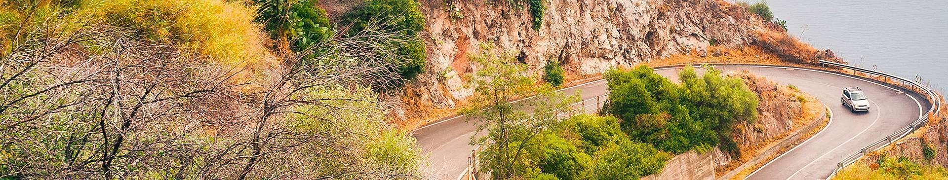 Rutas en coche por Sicilia