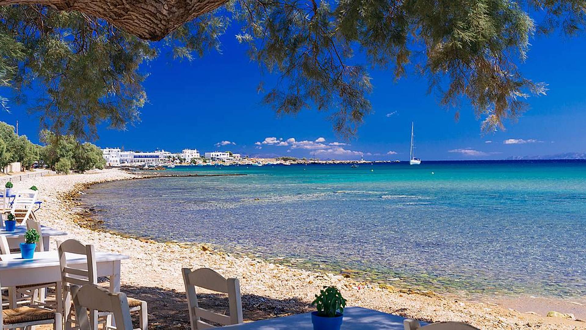 Tu sueño en las Cícladas desde la isla de Paros