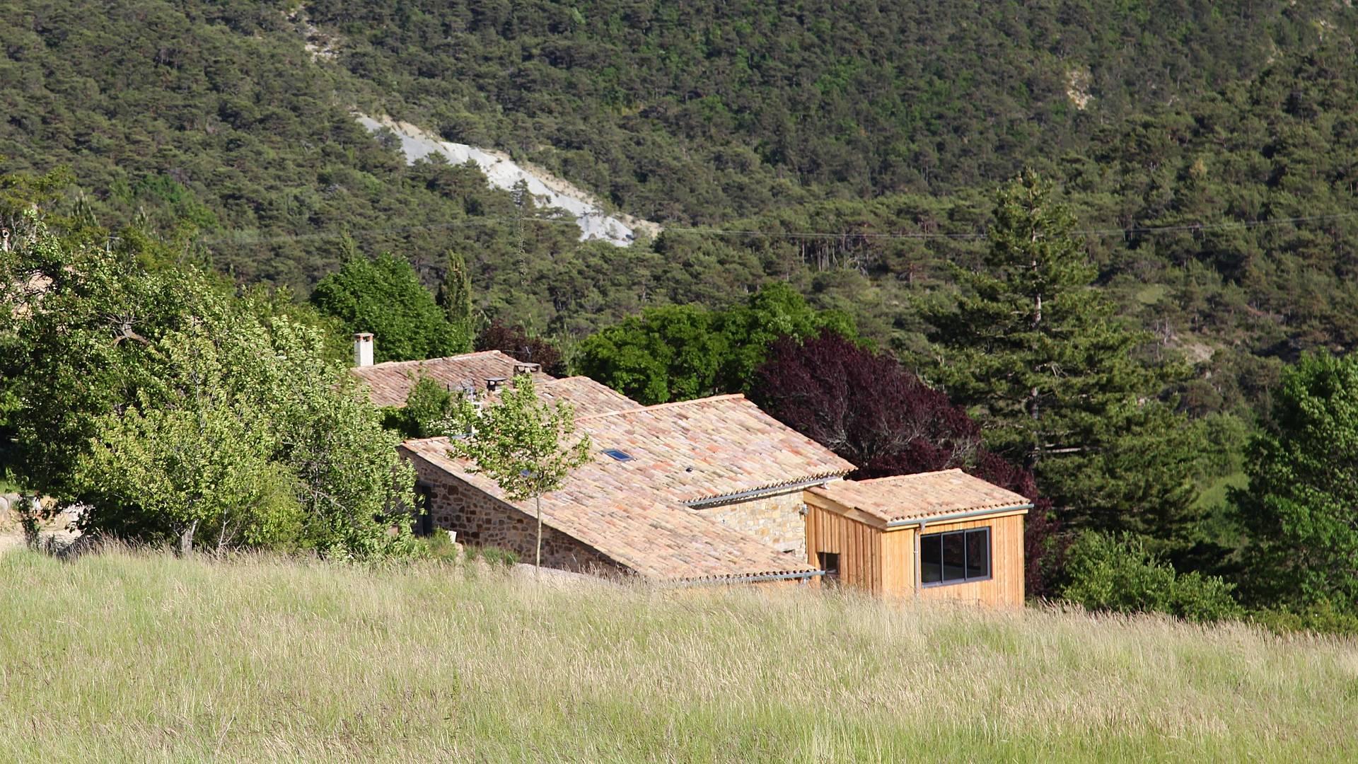 Idyllischer Frieden zwischen Alpen und Provence