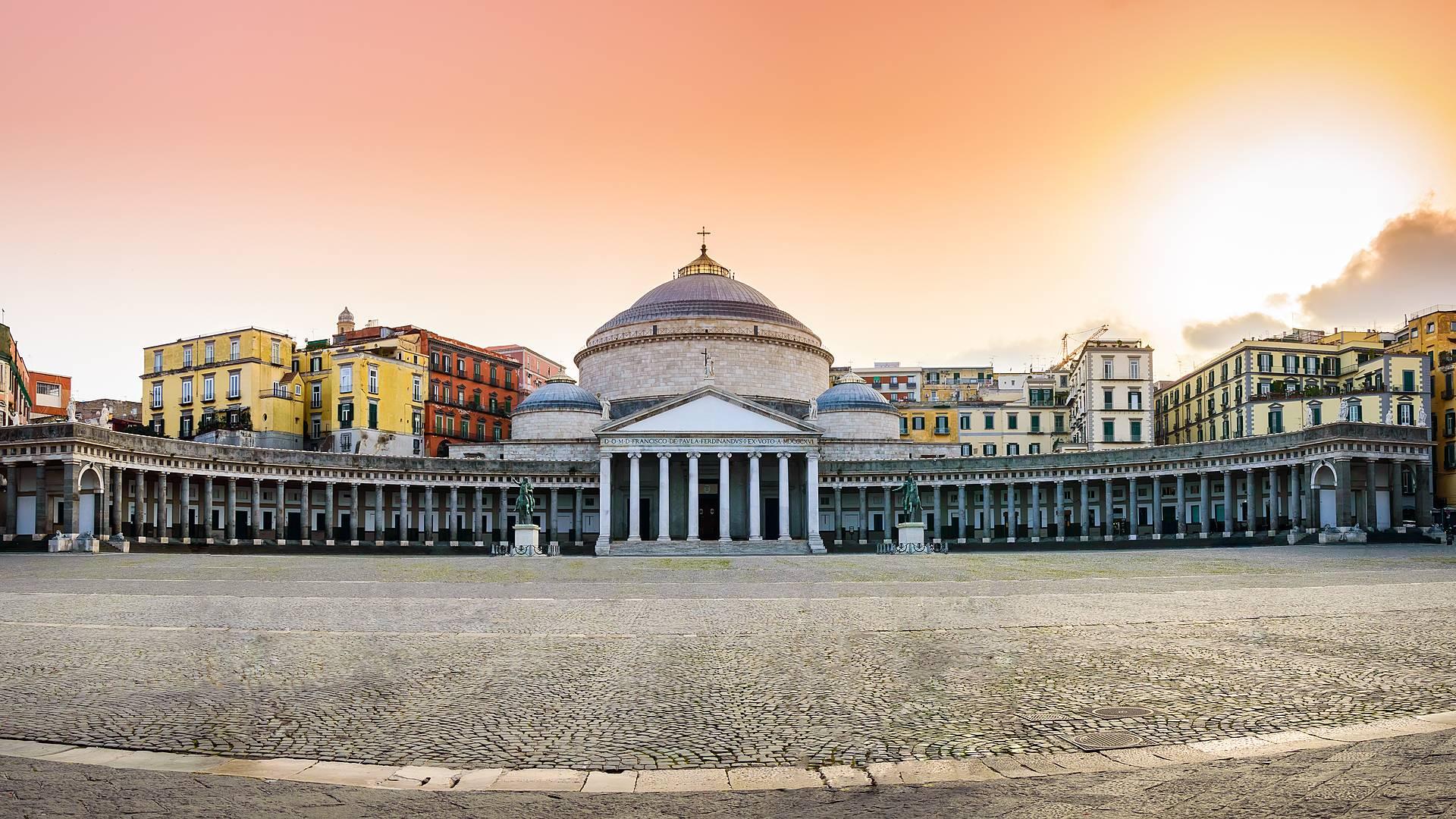 Napoli e dintorni in inverno