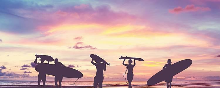 Surfeando las olas del sur