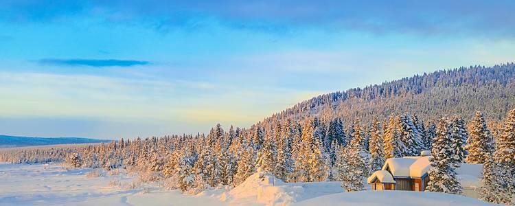 Una romantica Lapponia svedese tra Chalet, Igloo e Rompighiaccio