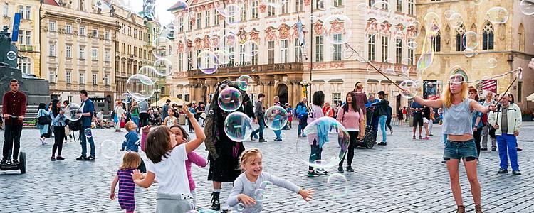 Prague ludique en famille
